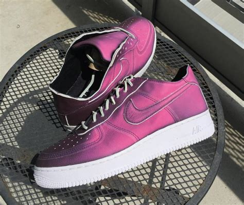 chagne color shoes color changing nike air 1 customs by geiger and