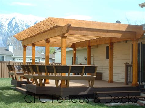 pergola pictures on deck bench plan woodworking supplies provo utah