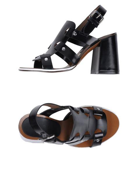 marni sandals marni highheeled sandals in black lyst