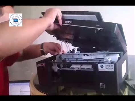 Printer Epson L200 cara membongkar printer epson l200 how to disassembly printer epson l200