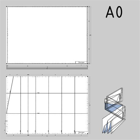 format a0 dwg drafting clipart