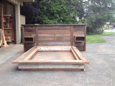 scrap wood headboard scrap wood headboard and platform bed
