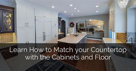 learn how to decorate your home learn how to match your countertop with the cabinets and