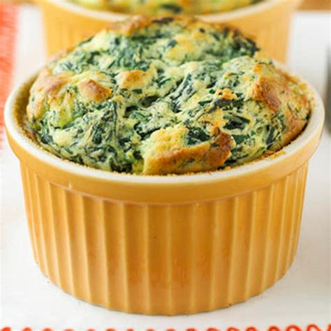 spinach cheese souffle spinach souffle with fresh spinach recipes yummly