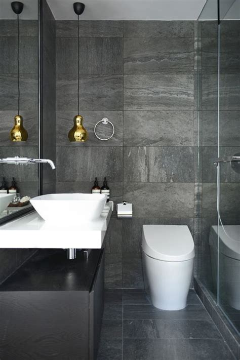 dark grey bathroom tiles ideas  pictures