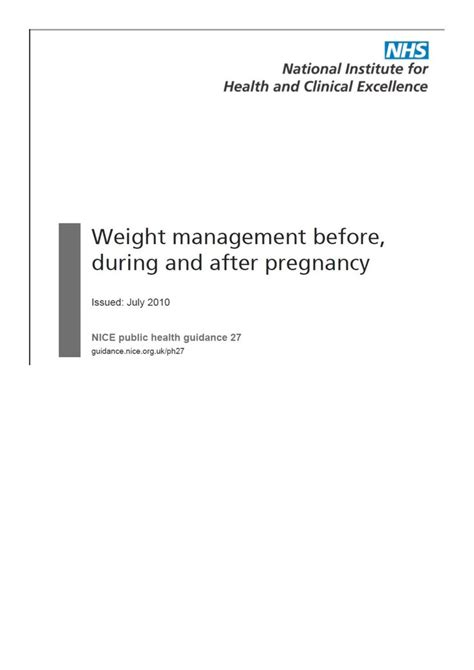 weight management during pregnancy 1000 images about mw4102 health promotion and