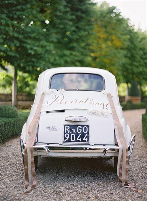 Wedding Car Tradition traditions wedding car decorations wedding ceremony guide