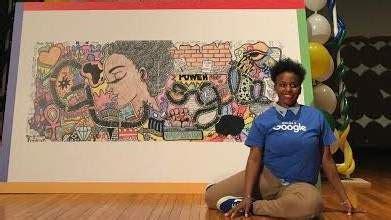 doodle 4 high school winners doodle 4 meet the winning artist akilah johnson