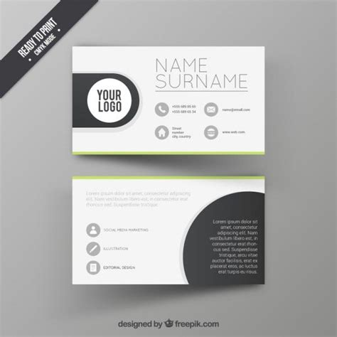 design cards template visit card design template free vector graphic design