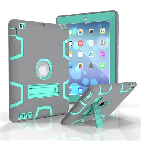 Mini 2 3 4 Defender Protection Army Grade Armor L Cover for apple mini 1 2 3 4 heavy armor shockproof rubber