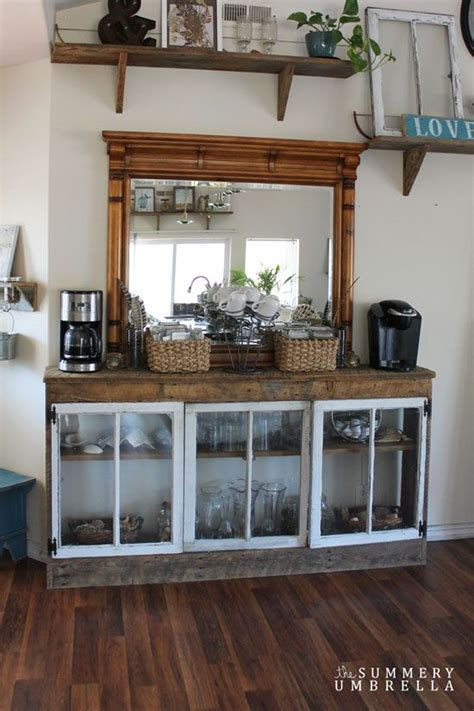 Kitchen Cabinet Microwave Shelf dreamy diy coffee bar at home ideas trends4us com