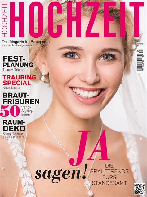 Zeitschrift Hochzeit brautmode fotografie f 252 r das magazin hochzeit