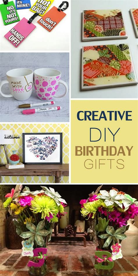 Creative Gifts For - creative diy birthday gifts hative