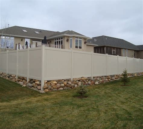 america s backyard fence solid privacy the american fence company