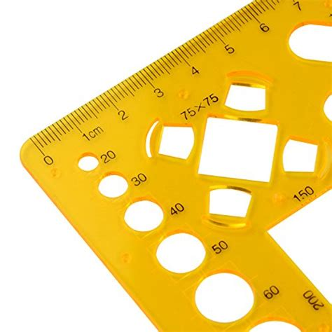 template ruler price zyhw orange plastic house interior design architecture