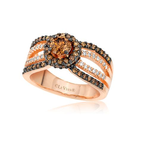 chocolate diamonds in engagement rings