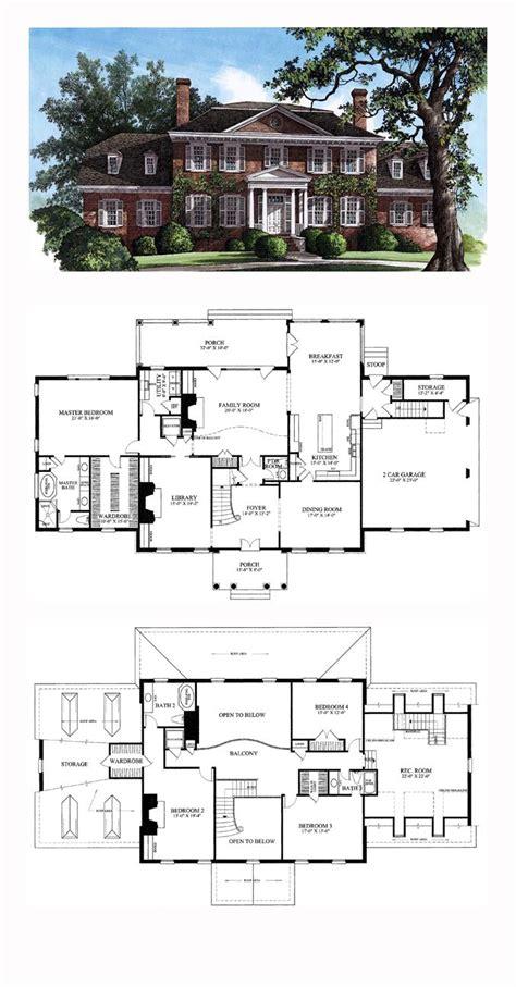 De 141 Bedste Billeder Fra Grundplaner P 229 Pinterest Southern Colonial House Plans