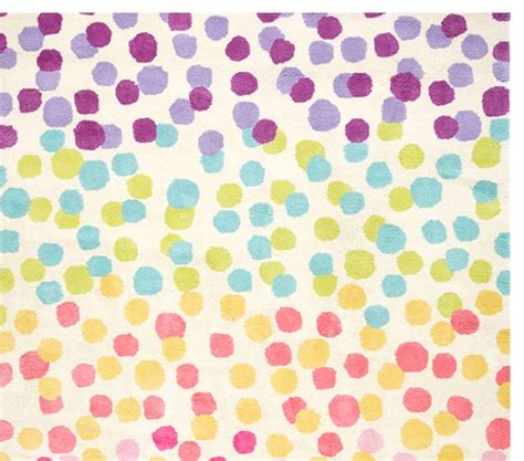 rainbow rug rainbow dot rug pottery barn