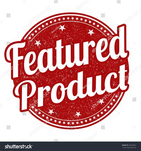 featured products featured product grunge rubber st on white background vector illustration 358200002