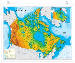 physiographic regions of canada map