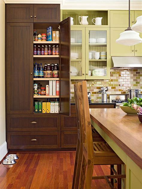 kitchen with pantry design kitchen pantry design ideas better homes and gardens