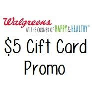 Walgreens Sells Gift Cards - walgreens 5 giftcard when you purchase 2 or more vanilla
