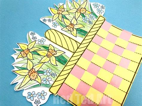 paper basket weaving template paper basket weaving template flower basket paper weaving