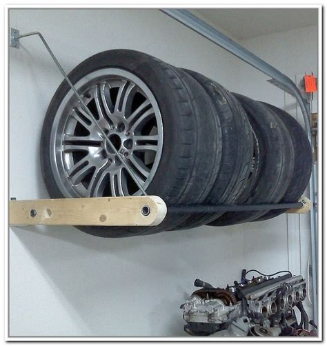 Tire Rack Design by Tire Storage Rack Plans Best Storage Ideas