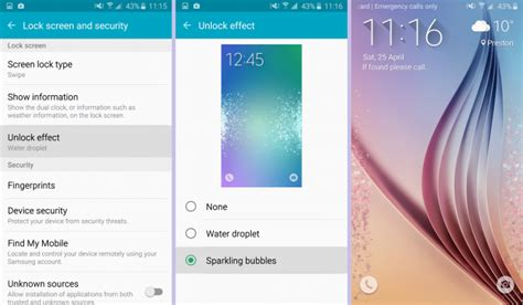 Squad Samsung Galaxy S6 how to customise the galaxy s6 lock screen squad