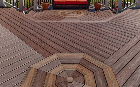 deck möbel layout use your creativity to add charming accents to your trex