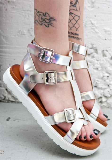 sandals login vagabond metallic gladiator sandals dolls kill