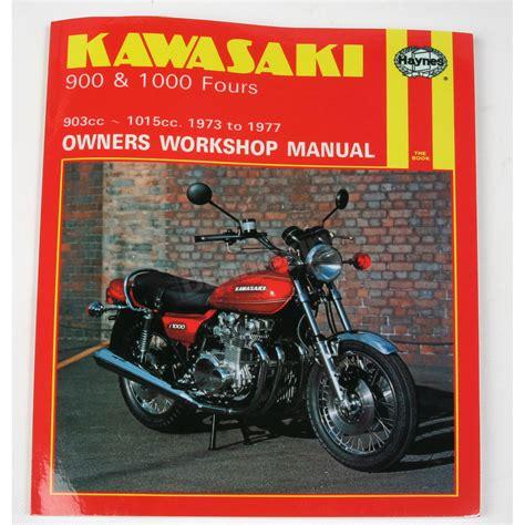 Haynes Kawasaki Motorcycle Repair Manual 222 Motorcycle