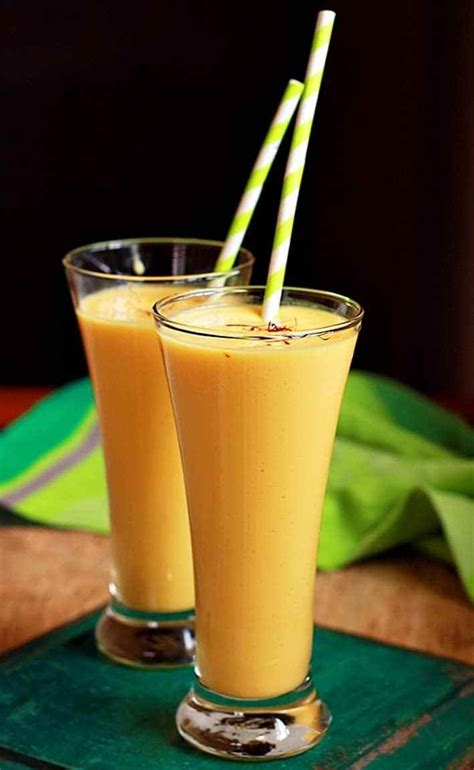 Mango Lassi mango lassi recipe how to make mango lassi recipe