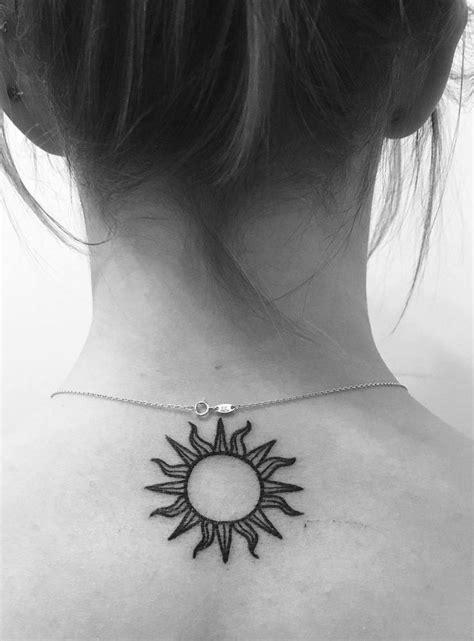 small sun tattoo designs top 25 best sun tattoos ideas on tiny sun