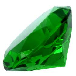 Green Emerald big 60mm emerald green 60 mm cut glass