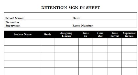 detention notice templates gt gt 16 nice detention slip