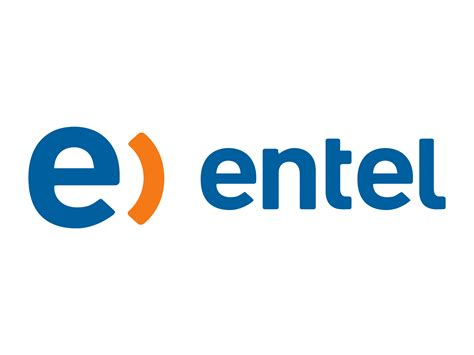 Entel logo and wordmark logok