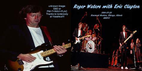Kaos Joe Satriani 4 t u b e roger waters w eric clapton 1984 07 26
