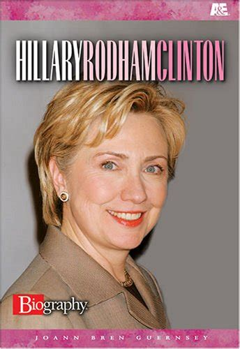 hillary clinton biography author joann bren guernsey author profile news books and