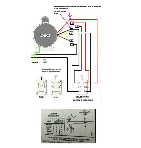220 single phase motor wiring diagram wiring diagram