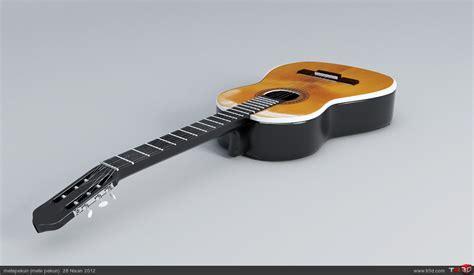 Up Gitar Spul Kq 3 klasik gitar 3d 199 izimler