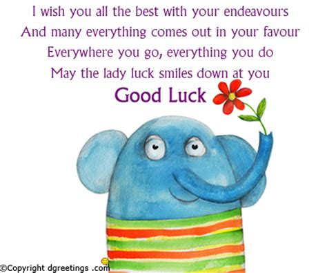 my best wishes to you luck messages luck wishes best of luck