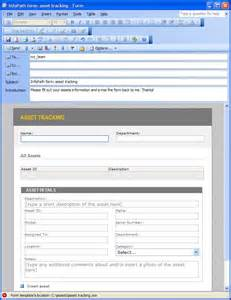 using infopath e mail forms microsoft infopath 2010