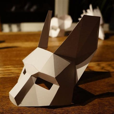rabbit half mask wintercroft