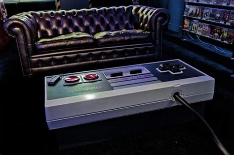 Amazing Nes Controller Coffee Table Video Nes Coffee Table