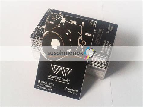 Kartu Nama 1 Muka Ivory 260 Murah Berkualitas pusat cetak kartu nama di palembang berkualitas
