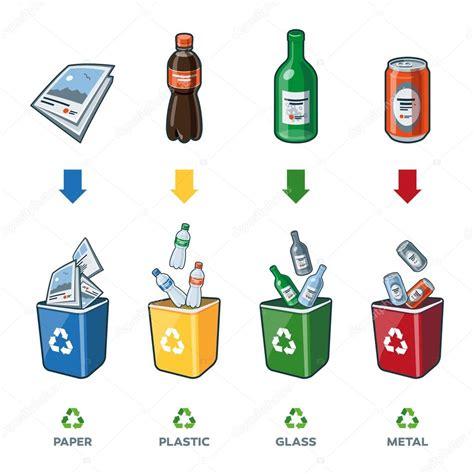 imagenes animadas reciclaje contenedores de reciclaje para papel vidrio pl 225 stico metal