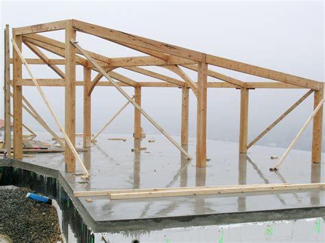 timber skillion roof construction skillion frame archives timberworks