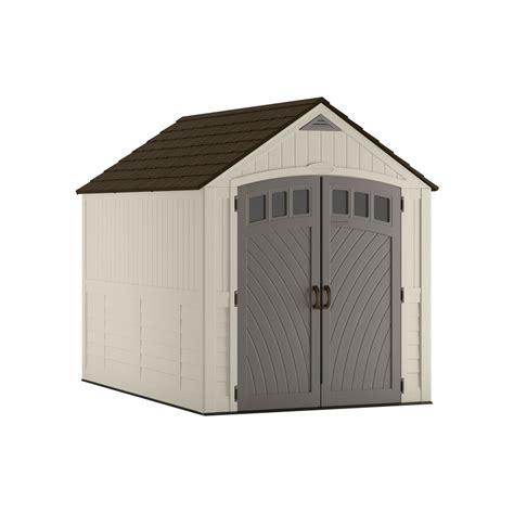 shop suncast covington gable storage shed common  ft