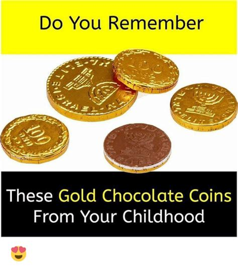 Meme Coins - do you remember these gold chocolate coins from your